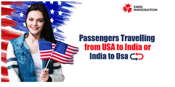 Important update related to passengers travelling from the US to India